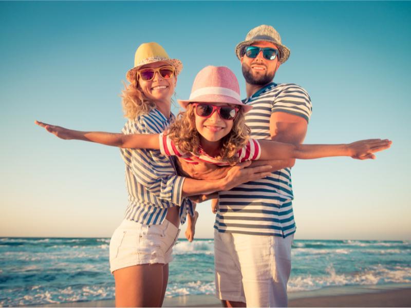 famiglia vacanza lago di Garda